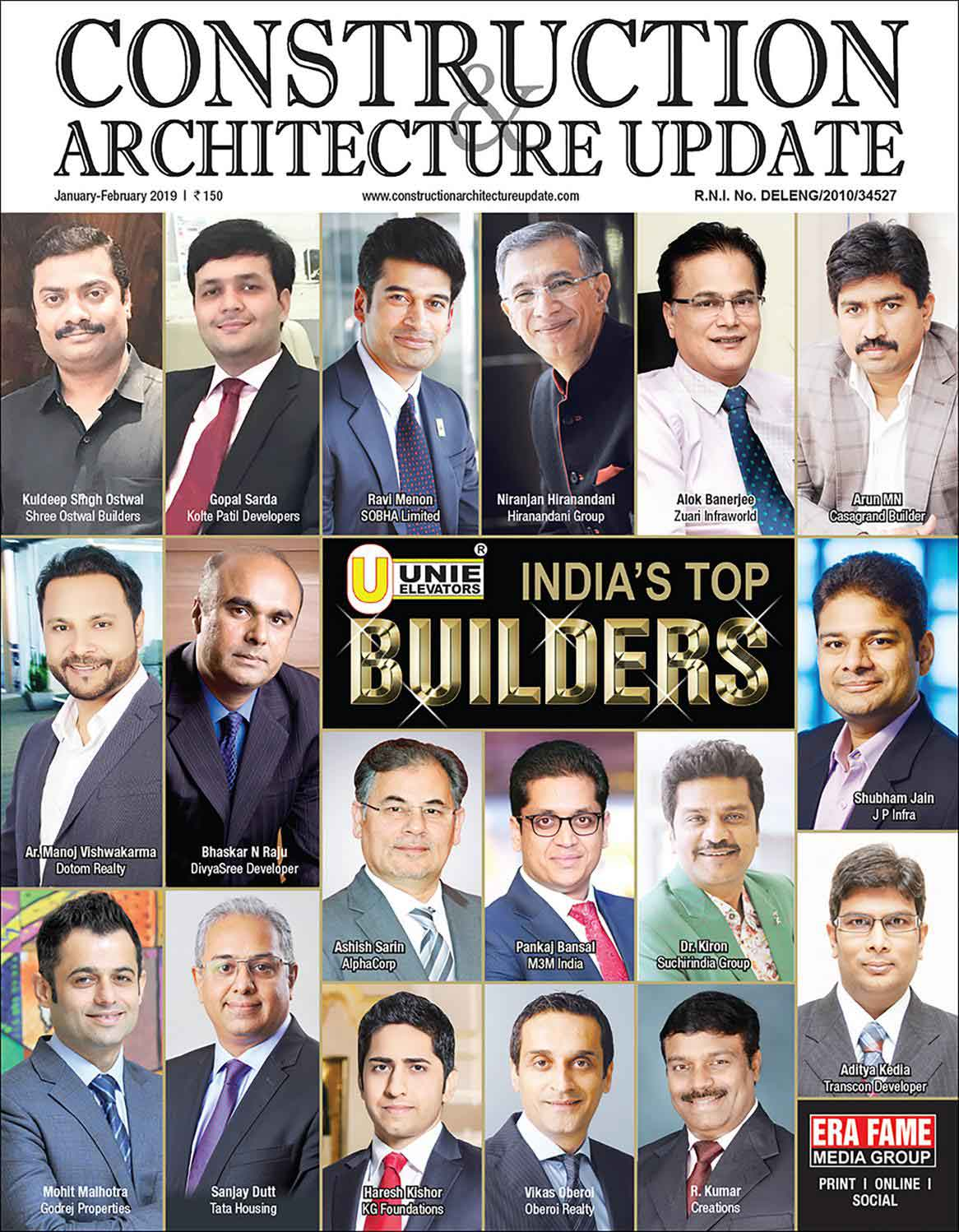 Construction & Architecture Magazine, Jan-Feb 2019
