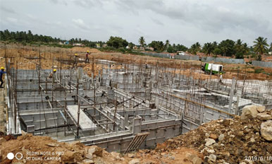 Brindavan Serenity - Concrete Completion