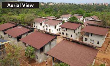 ZRF,Goa - Villa Top View