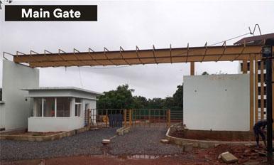 ZRF,Goa - Main Gate