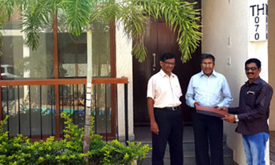 Handover to Mr. Gokul Purushottam - TH70