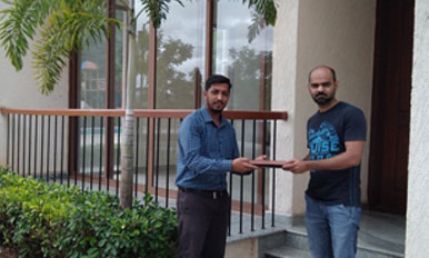 Handover to Mr. Pranesh - TH101