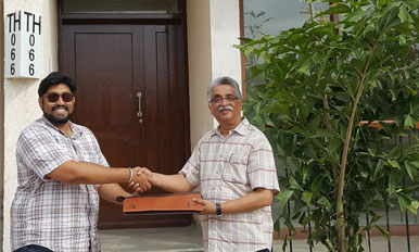 Handover to Mr. Valentine DC - TH66