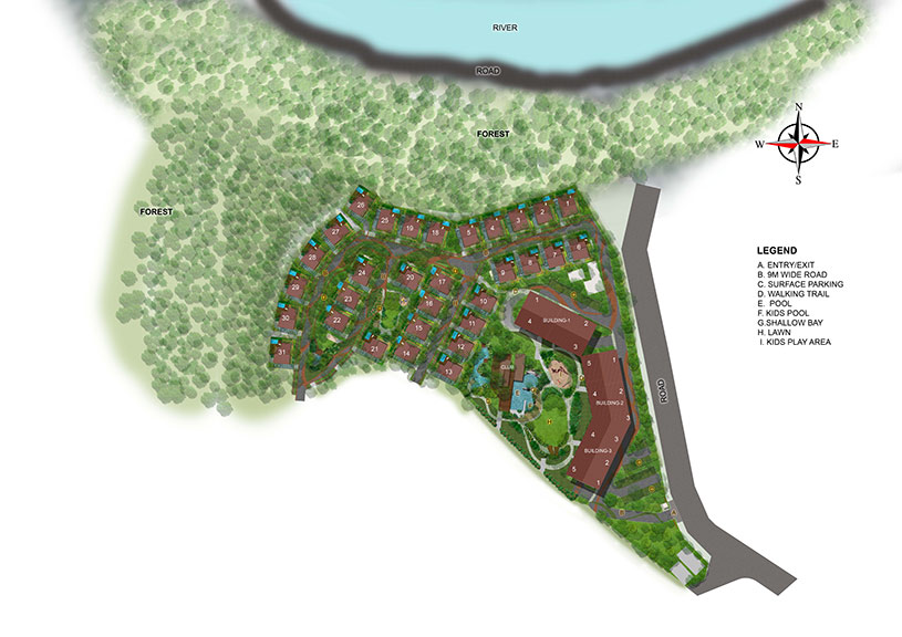 Zuari Rain Forest (Luxury Villas) floor plan