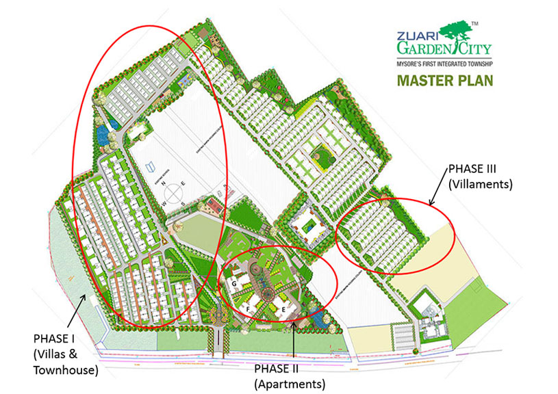 Zuari Garden City (Villa) floor plan